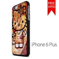 OBEY HELLO KITTY NDR iPhone 6 Plus Case
