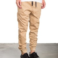 Down Under Jogger - Light Brown