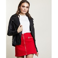 Zip-it Mini Skirt
