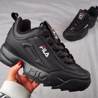 FILA Classic Popular Women Men Leisure Running Sport Shoes Sneakers