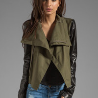 VEDA Max Army Jacket in Army/Black from REVOLVEclothing.com