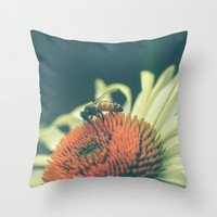 Summer Dance Throw Pillow by Olivia Joy StClaire