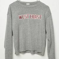 ACACIA WEST COAST PATCH SWEATSHIRT