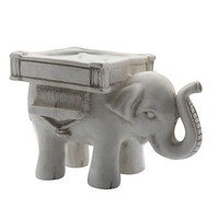 New Arrival Retro Lucky Elephant Tea Light Candle Holder Candlestick Wedding Favor Home Decor 6RXP