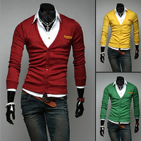 New Design Men Fashion Cardigan