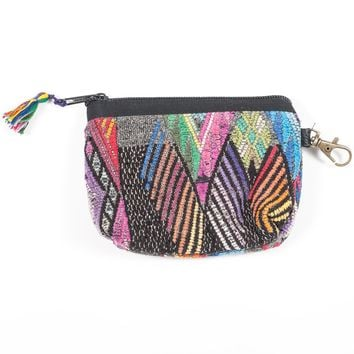 Upcycled Huipil Coin Purse (Guatemala) - Style 8