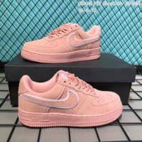 HCXX N274 Nike Air Force 1 LV8 Suede Skate Shoes Pink