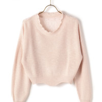 LIZ LISA Short Knit Shirt