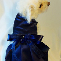 Small Dog or Cat Custom Wedding Bridesmaid Dress. Match your Wedding colors. Wedding Party
