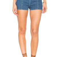 AMUSE SOCIETY Dallas Short in Light Blue
