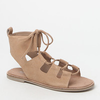 Matisse Shells Lace-Up Suede Gladiator Sandals at PacSun.com
