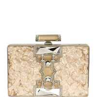 Judith Leiber Jazz Age Marble Clutch Bag | Harrods.com