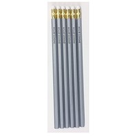 Bad*ss B*tch Pencil Set in Silver
