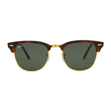 REDUCED! Ray-Ban RB3016 W0366 51 Clubmaster Sunglasses Tortoise Arista
