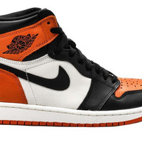 Air Jordan 1 High OG Shattered Backboard Orange Black White