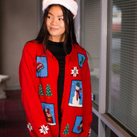 """""""Home for the Holidays"""" Sweater"""