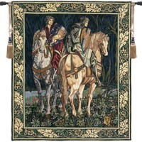 Les Chevaliers Tapestry Wall Art Hanging