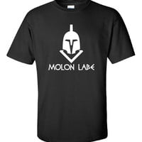 Molon Labe Come and Take them Greek Spartan ban guns Second 2nd Amendment American 300 Obama T-Shirt Tee Shirt Mens Ladies Women Mad ML-269