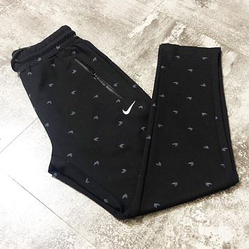NIKE Fashion Women Men Casual Print Sport Stretch Pants Trousers Sweatpants