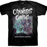 From Wisdom to Baked T-shirt - Cannabis Corpse - Bands