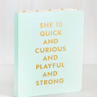 Ambitious Addition Notebook | Mod Retro Vintage Desk Accessories | ModCloth.com