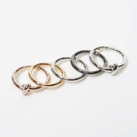 Womens Stackable Rings   Womens Accessories & Jewelry   Abercrombie.com
