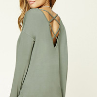 Crisscross Back Top