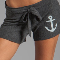 Wildfox Couture Hey Sailor Cutie Shorts in Clean Black from REVOLVEclothing.com