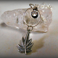 Marijuana Necklace, Weed Necklace, 420 necklace, Marijuana Leaf, Hipster, Hippie, Direct checkout, Ready to ship