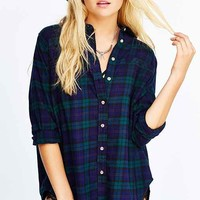 BDG Obie Flannel Button-Down
