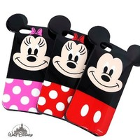 Disney Mickey Mouse Inmold Jelly Case for Galaxy Note 4
