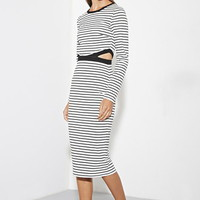 The Fifth Label Bitter Life Stripe Dress