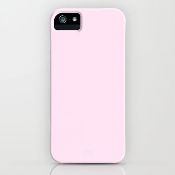 Marshmallow Pink iPhone & iPod Case by Color Project