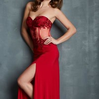 Night Moves 7074 at Prom Dress Shop