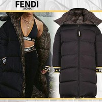 FENDI Women Down jacket Coat