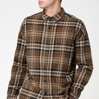 PacSun Plaid Flannel Relaxed Long Sleeve Button Up Shirt at PacSun.com