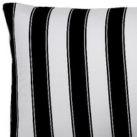 Black and White Stripe Pillowcases and Shams - Pillowcases - Sin In Linen