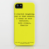 Perks of Being a Wallflower  iPhone Case by Mackenzie Hahn | Society6