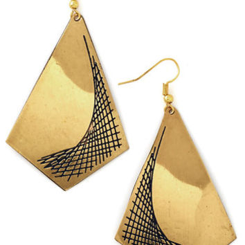 Mata Traders Festival Parabolic Perfection Earrings