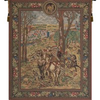 Vieux Brussels (Right Side) Tapestry Wall Art Hanging