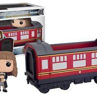 Funko Pop Rides: Harry Potter - Hogwarts Express Engine w/ Hermione Vinyl Figure
