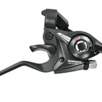 Shimano Acera/Altus ST-EF51 Shifter/Brake Lever - Left, V- Brake, 2-Finger, Black