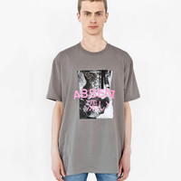 Absent Tee in Faded Khaki Gravel