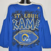 90s St Louis Rams Oversized Jersey Deadstock t-shirt Extra Large