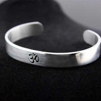 Stainless Steel OM Open Bangle