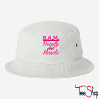 BAM Beauty And Muscle bucket hat