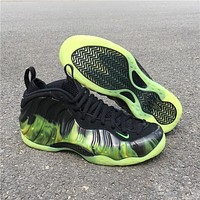 Nike Air Foamposite One ParaNorman BLACK-NEON GREEN Men Sneaker