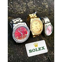 Rolex simple tide brand fashion quartz watch
