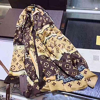 Louis Vuitton Woman Cashmere Scarf Shawl Silk Scarf