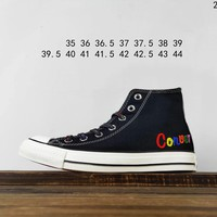 Kuyou Fa19630 Converse All Star Colorful High Top Canvas Shoes